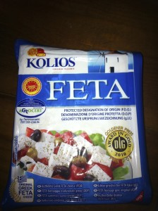 Feta cheese food
