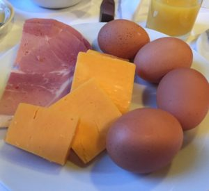 Eggs, ham and cheese ideas