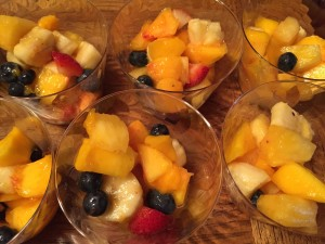 Fresh Fruit in a Fun and Festive Cup