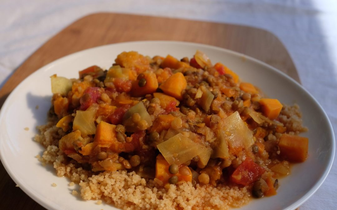 Tagine (Root Vegetable Stew) Recipe