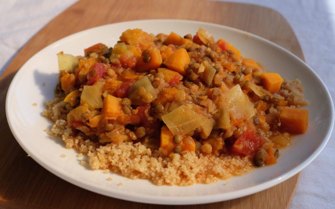 Tagine (Vegetable Root Stew) Recipe