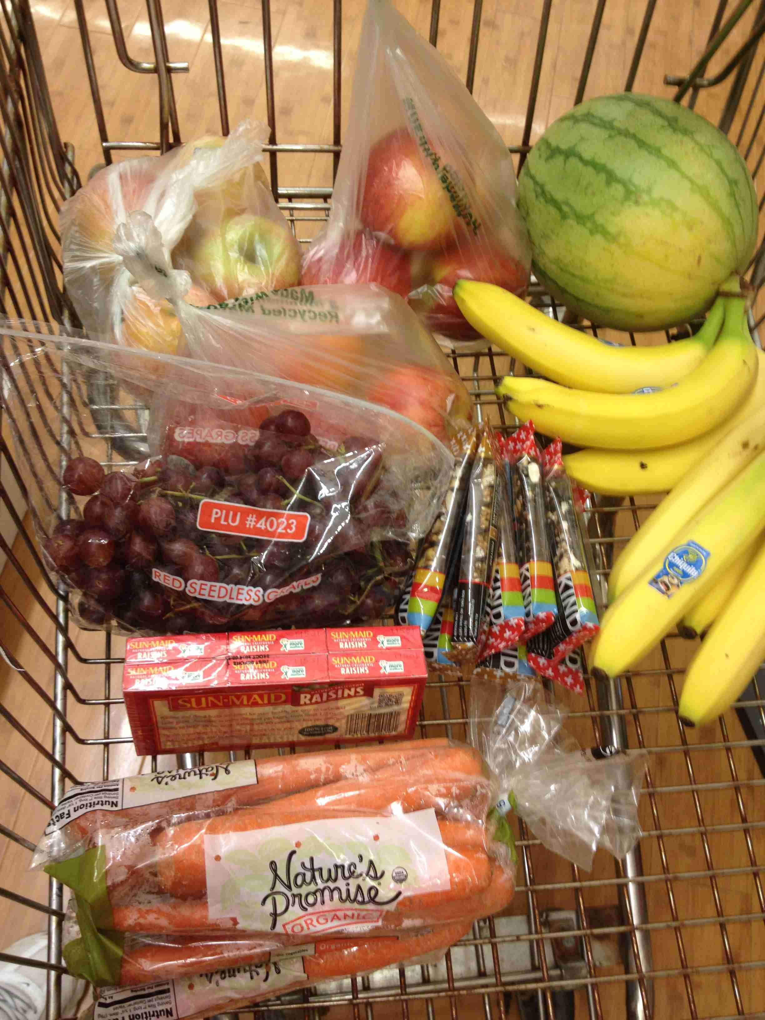 Healthy shopping doesn't have to be expensive!