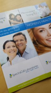 spectracell vitamin and mineral testing