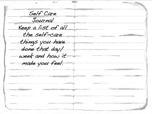 Keep a self care journal this season