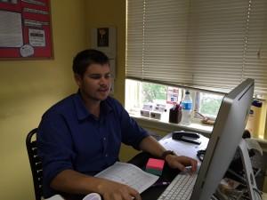 Doug Kerr RBA nutrition student intern