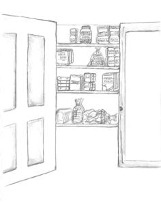 Get your pantry organized for less stressful meal times