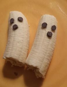 Yummy banana ghosts