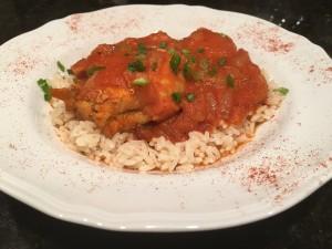 Moroccan Red Harissa Chicken