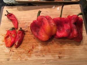 Peppers with Skin Removed