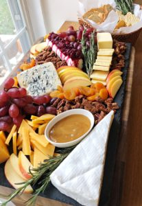 thanksgiving treats cheese platter
