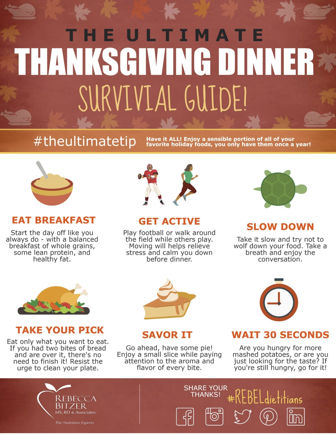 thanksgiving treats survival guide