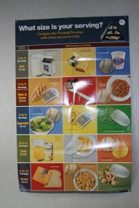 Portion Sizes Poster at RBA