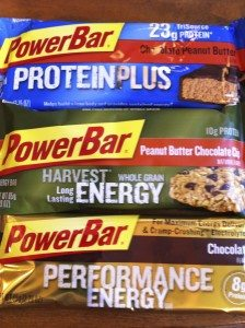 Power bars and gels are a good option for fueling