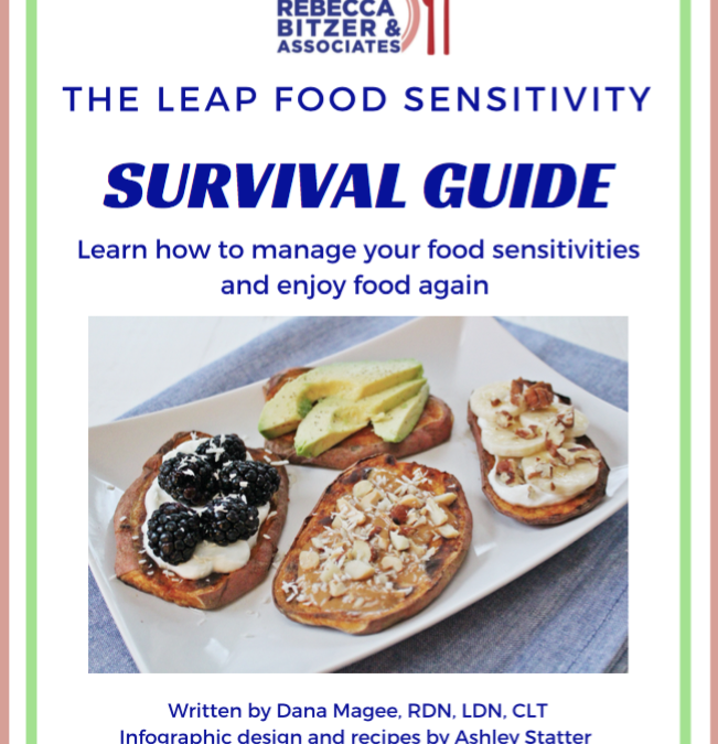 The LEAP Food Sensitivity Survival Guide