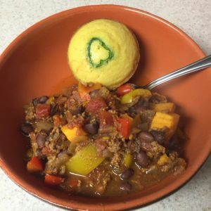 Beef and Sweet Potato Chilli