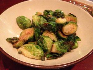 vin 909 wine cafe restaurant food brussel sprouts vegetables