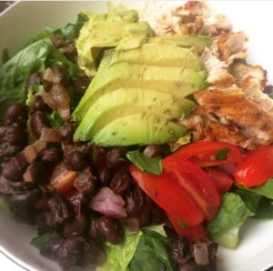 I was very excited for this Mexican Chicken Salad and it made packing lunch exciting!