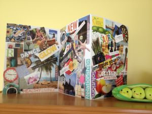 Vision board can help you focus on your career.