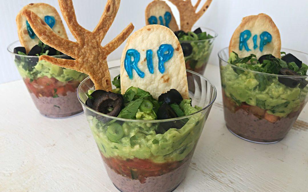 Halloween Taco Cups