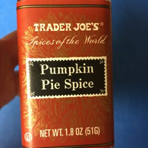 pumpkin pie spice pumpkin products