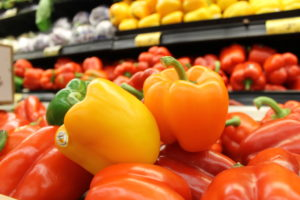 bell peppers beta-carotene