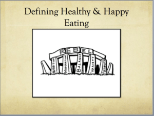 5 Pillars of Healthy Eating