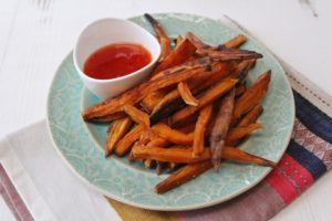 baked kid-friendly fries