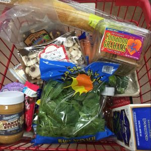 grocery shopping active students