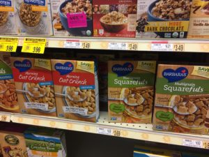 high fiber, low sugar cereal