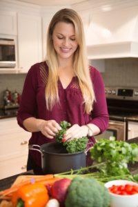 Kaitlin Williams Eckstein cooking