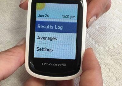 test blood sugar