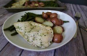 Chicken Ranch sheet pan dinners
