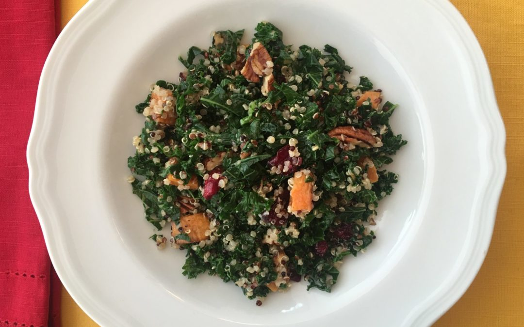 Kale and Quinoa Power Salad