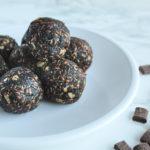 chocolate energy balls