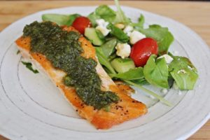 improve memory with food with salmon