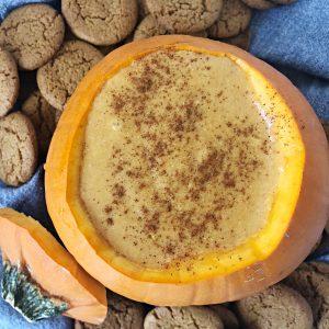 vegan pumpkin dip
