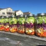Low FODMAP Mason Jar Salad