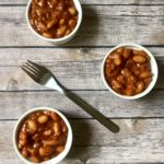 back to school Healthy Baked Beans