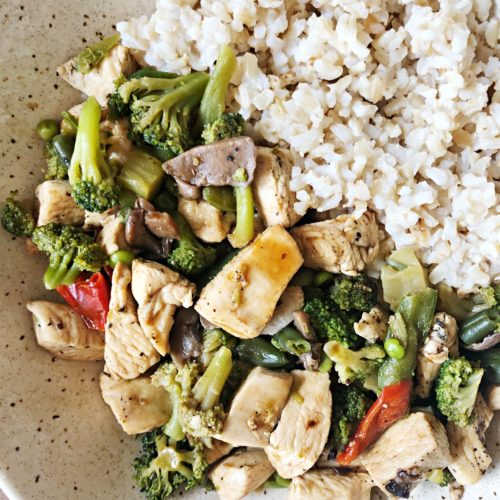 low fodmap stir fry for easy meal