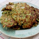 Baked Zucchini Hash Browns