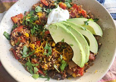 one pot Mexican quinoa