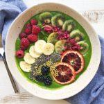 Green smoothie hemp
