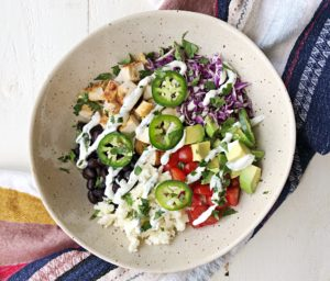 easy grain bowl