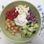 Vegetarian Greek Bowl