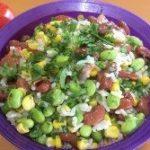 high fiber salad Edamame Salad