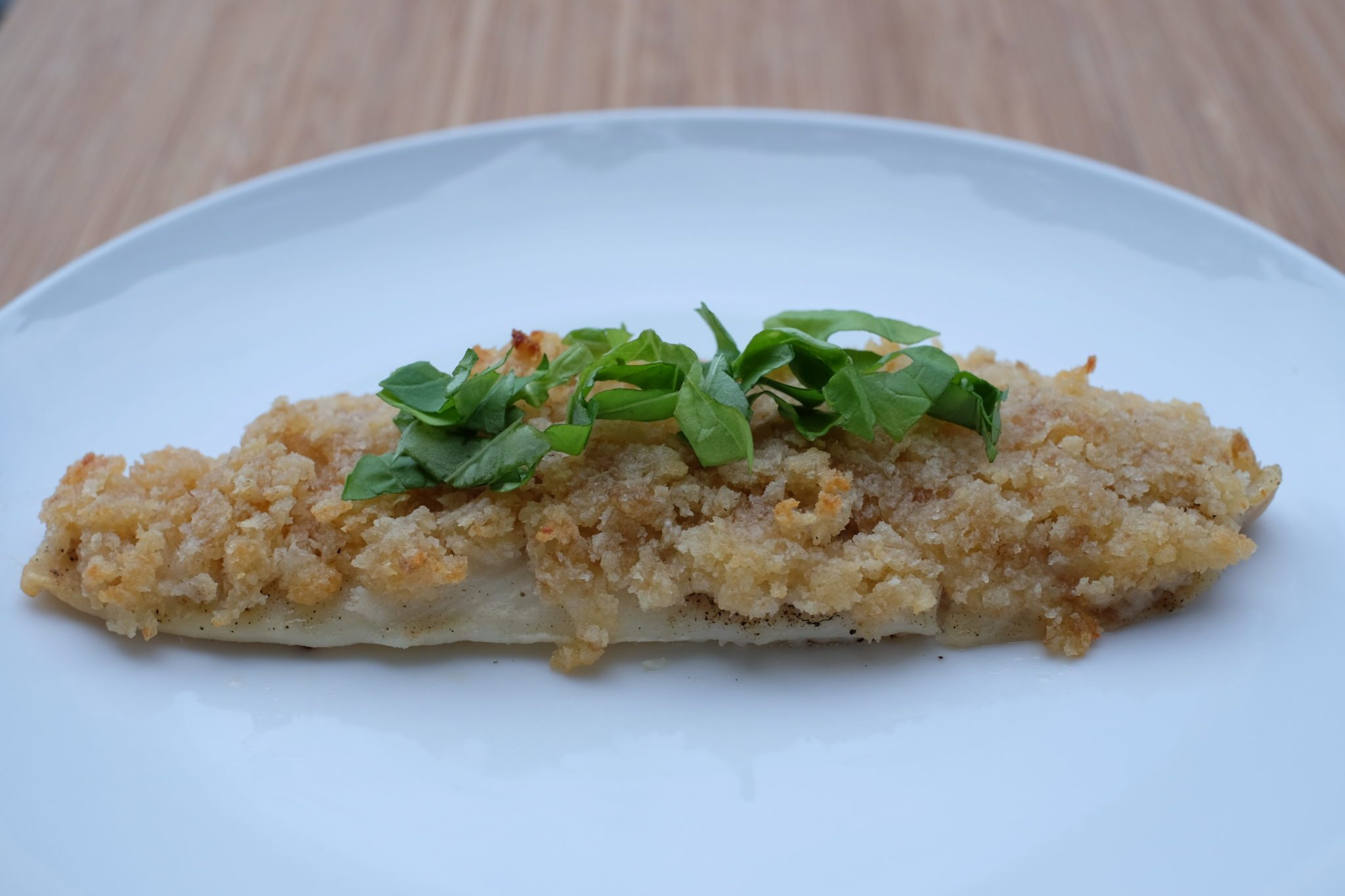 Parmesan crusted baked fish rebecca bitzer associates for Parmesan crusted fish