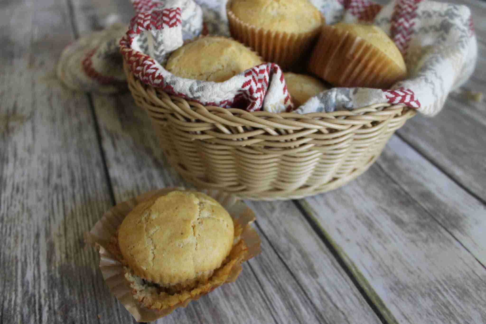 Low FODMAP Cornbread Muffins