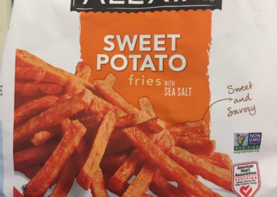 frozen food sweet potato fries