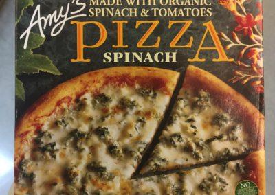 frozen food pizza