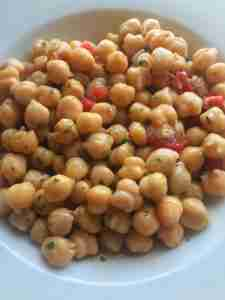 garbanzo bean chickpea salad
